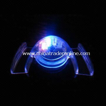 Mouth Flash Toy with LED Twinkle Light, Available in Variety of Toys