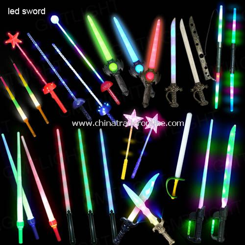 LED Flash Sword