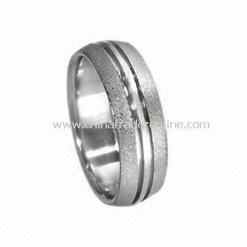 Stainless Steel Finger Ring, OEM Orders Welcomed