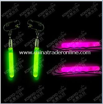 Blistercard Glow Hairpin and Earring