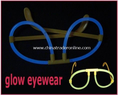 Party Glow Eyeglasses with Non-Toixc, Non-Flammable, Non-Radioactive Noheat, Flame and Sparks