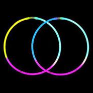 Tri-Colors Glow Necklace