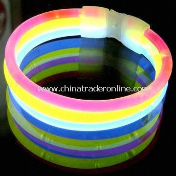 8-inch Glow Stick, Comes in Three-in-one Wide Glow Design