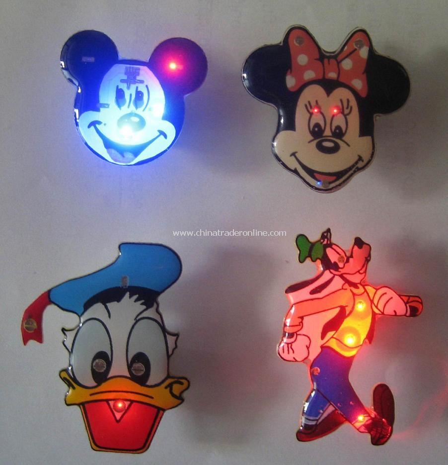 LED Flash Badge