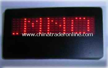 led Name Badge from China