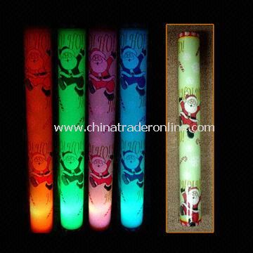 Light Up LED Flashing Foam/Glow Sticks, Made of EPE Foam Material