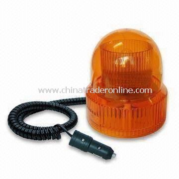 Alternating Flashing Light with 2 Bulbs for Maximum Visibility and Strong Magnetic Mount