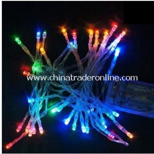 Christmas Battery LED String Lights Rope Light