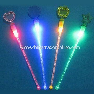 Flashing Swizzel Sticks, Available in Various Colors and Designs, Suitable for Bar Restaurant