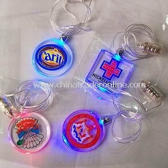 LED Bottle Necklace