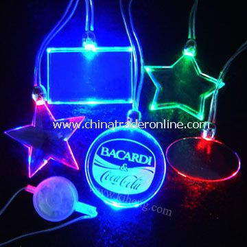 LED Flashing Necklace