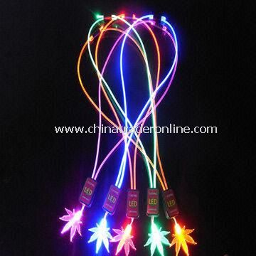 LED Necklace with Different Colors, Fashionable, for Gift