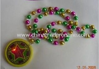LED Pendant Bead Necklace
