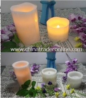 Wax Candle with LED