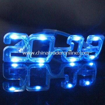 2013 Flashing Light Up LED Sunglasses, OEM/ODM Orders Warmly Welcomed