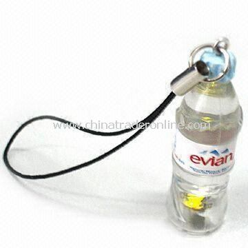 Flashing Mobile Phone Strap, Various Sizes and Colors are Available