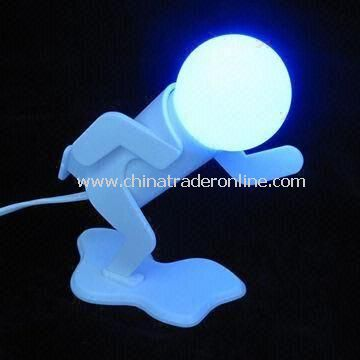 Flashing Novelty Body Light with Button to Light On and Off, Various Designs Available