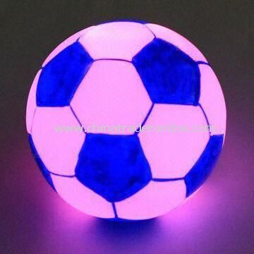 Football Flashing Novelty Light, Flashing and Fit for Gifts and Customized Designs AcceptedFootball Flashing Novelty Light, Flashing and Fit for Gifts and Customized Designs Accepted