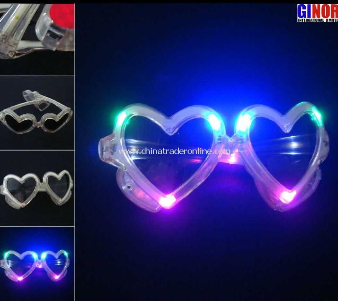 LED Flashing Sunglasses from China