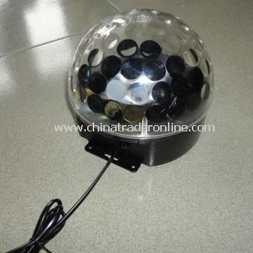 3W Auto LED Crystal Magic Ball Light, Light Source of 3W