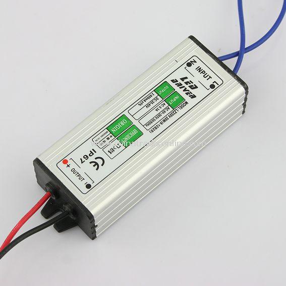 20W (8-12) x2 LED Driver Waterproof IP67 Power Supply 25-45V 600mA