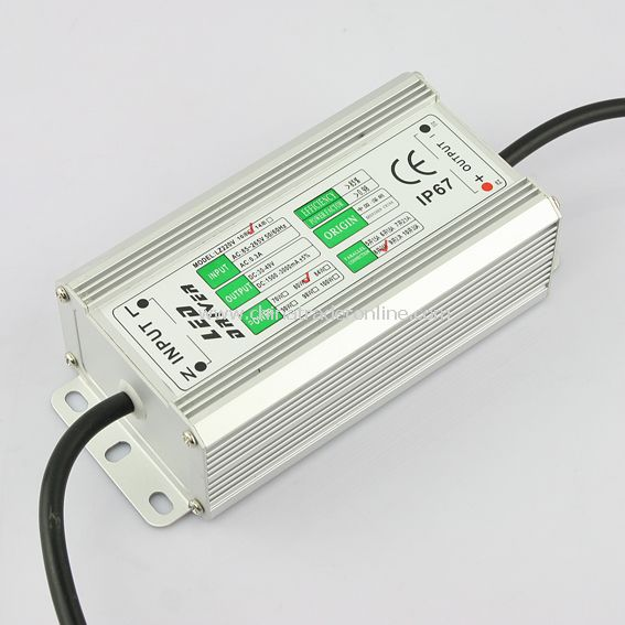 80W (10*1W x 8) LED Driver Power Supply Waterproof IP67 30-49V from China