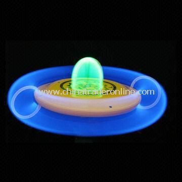 Childrens Glow-in-dark Frisbee with 23cm Diameter from China
