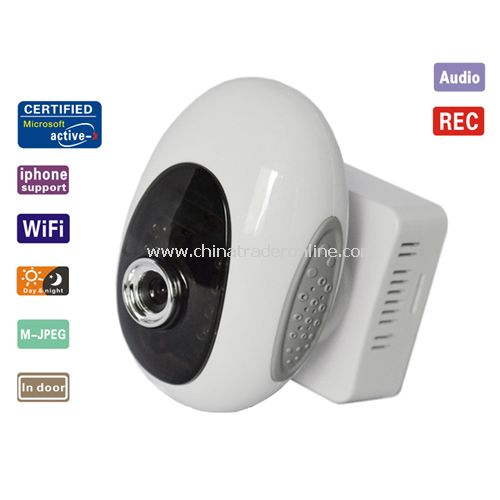 WIFI Wireless Webcam IR Night Vison Security IP Camera Dual Audio ip camera