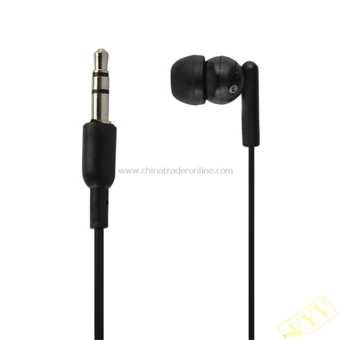 Cute Earphone In-earphone fit for IPOD Black S10