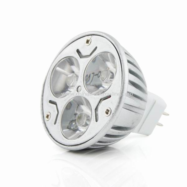 MR16 3W 12V Warm White 3 LED Bulb Spot Light Lamp Downlight