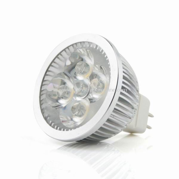 MR16 4W 12V White 4 LED Bulb Spot Light Lamp Downlight