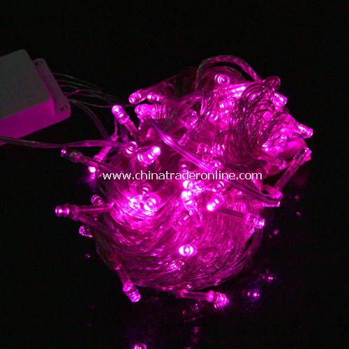 New Christmas Tree Wedding Party Pink LED Light 10m w/ End Plug 110V