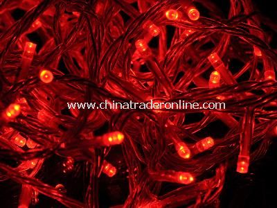 RED LED LIGHT 10M from China