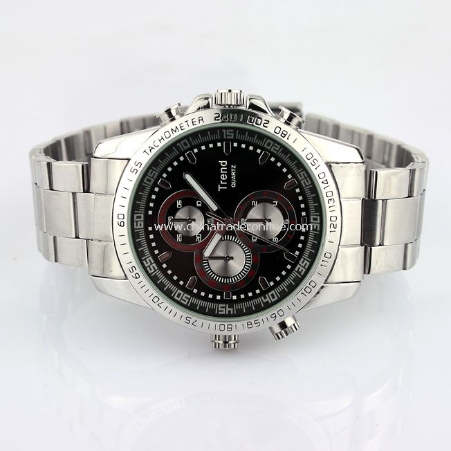 Waterproof 4GB Mp3 Player Watch Voice Video Recording Camera DVR MINI DV Watch from China