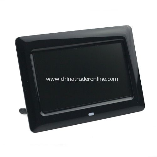 7 TFT LCD Digital Photo Picture Frame Slideshow w/ Remote