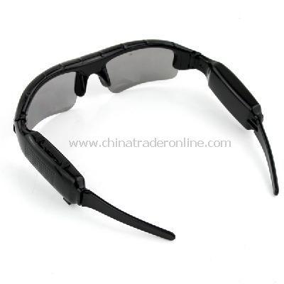 Video Sunglasses Mini HD DV DVR Camera Black