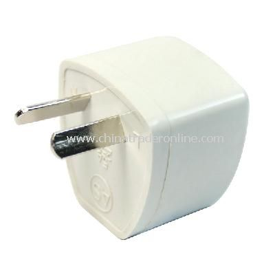 2-pin AU Travel Plug Power Adapter Converter White from China