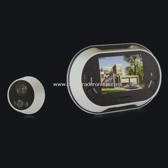 3.5 LCD Screen Digital Door Peephole Viewer Wide Angle