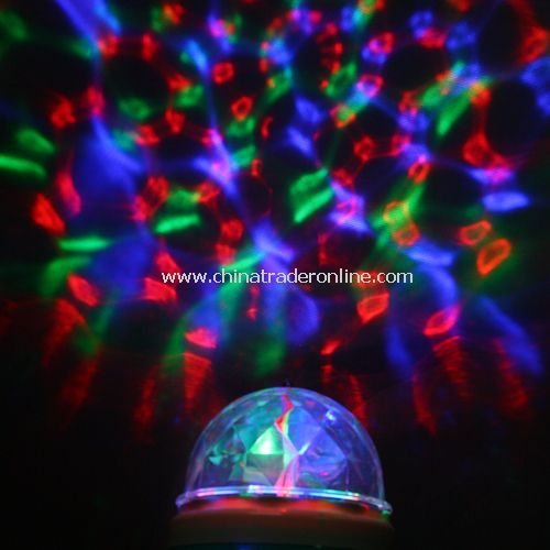 3W E27 LED MINI PARTY LIGHT Dance Party Lamp Lights