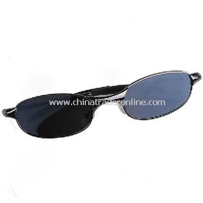 Anti-Track UV Protection Spy Reflex Sunglasses Side Mirror with Protective Case