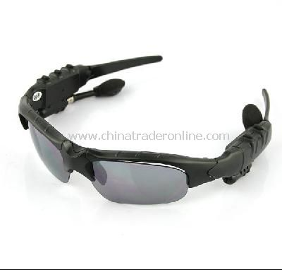 Bluetooth Headset Sunglasses Mp3 Player-2GB from China