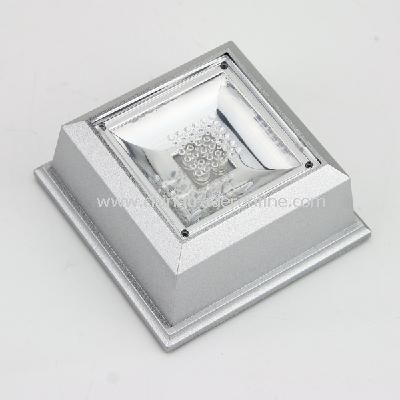 Crystal Display Base Stand 4 LED Light