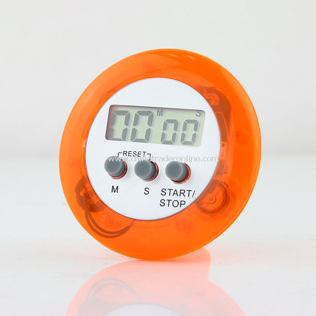 Digital Cooking Kitchen Countdown Timer Alarm Purple Time Round from China