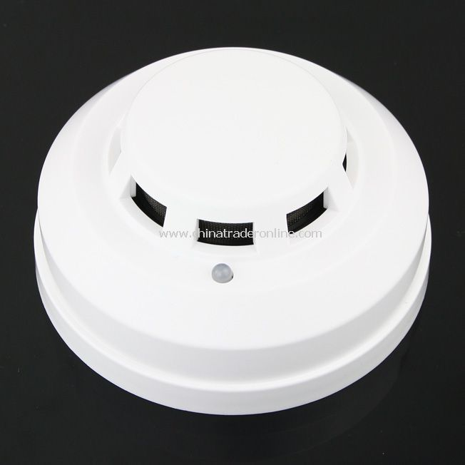 LED Fire Alarm Alert Photoelectric Smoke Detector for Home Security System