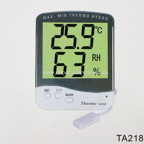 Mini Digital LCD Thermo Hygrometer Temperature Humidity New