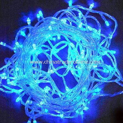 New Christmas Tree Wedding Party Blue LED Light 10m w/ End Plug 110V