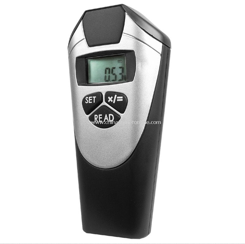 Ultrasonic Distance Area & Volume Laser Measurement Device from China