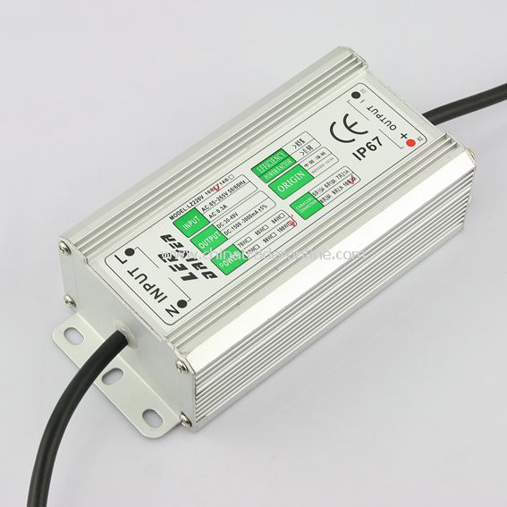 100W (10*1W x 10) LED Driver Power Supply Waterproof IP67 30-49V