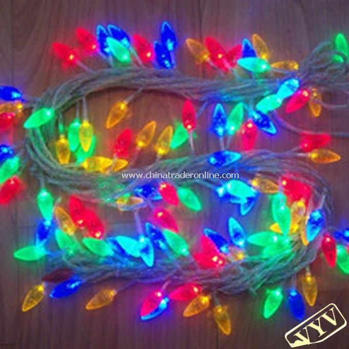 10M 80 LED Maize Shape Strip Lights for Christmas Holiday Decoration