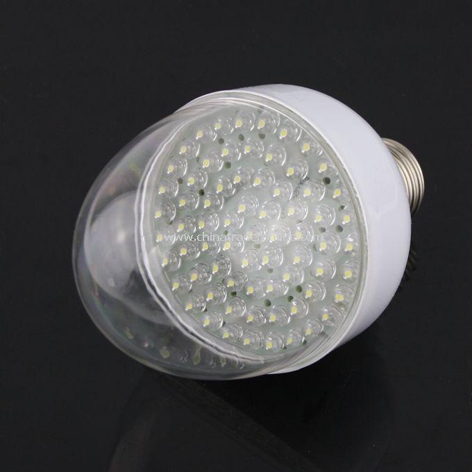 3.5W E27 Bright 70-LED Energy Saving LED Light Bulb Lamp Pure White